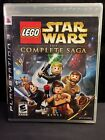Video Games - New Factory Sealed Lego Star Wars The Complete Saga PS3 Video Game