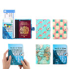 Passport Cover Wallet Card Holder Luggage Name Address ID Tag Travel Accessories