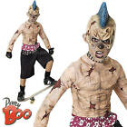 Zombie Skate Punk Boys Halloween Fancy Dress Cool Creepy Kids Childs Costume