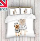 3D Digital Print Bad Dog Duvet Cover Quilt Cover Bedding Single ,Double ,King
