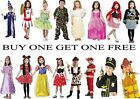 Boys Girls Minnie Fire Snow White Army Police cheerleader Ninja Princess