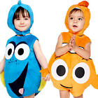Finding Dory or Nemo Toddler Fancy Dress Disney Fish Infant Costume 3-24 Months