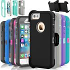 For Apple iPhone 5C 5 5S SE Shockproof Hard Case...