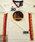 NWT Basketball Jersey STEPHEN CURRY 30 GSW Chinese New Year White Men
