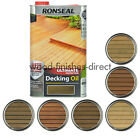 Ronseal Ultimate Protection Decking Oil 5L - In Clear or 5 Natural Shades