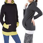 Maternity Clothes Long Sleeve Winter Waem Breastfeeding Nursing Tops Hoodie New