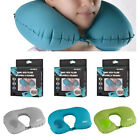 Romix Self Inflated Neck Press Pillow U Shaped Foldable Travel Pillow Upgraded