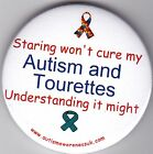 Tourettes, Staring won't cure my Autism and Tourettes, understanding might!