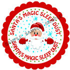 SANTA'S MAGIC SLEEP DUST stickers For Sweet Cones etc, 3 Sizes - Ref CHSMS 01-65