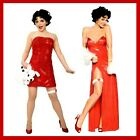 BETTY BOOP 1930's FILM & CARTOON CHARACTER FANCY DRESS COSTUMES INCLUDING WIG
