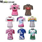 WEIMOSTAR Women's Cycling Jersey Breathable Top Bike Clothing T-shirt Cycle Gear