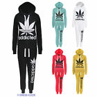 CLEARANCE LADIES ADDICTED PRINT TRACKSUIT WOMENS JOGGING HOODIE BOTTOMS TOP