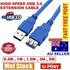 USB 3.0 SuperSpeed Extension Cable Type A Male to Female 0.5M 1M 1.5M 3M 5M Aus
