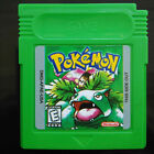 Pokemon Gameboy Advance Color GBA GBC Game Cards US Version [Reproduction]