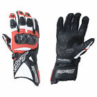 RST Motorcycle Bike Blade II 2125 Red CE Certified Leather Sports Glove