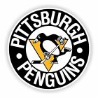 Pittsburgh Penguins Round Decal / Sticker Die cut $3.49 USD on eBay
