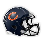 Chicago Bears Football Helmet Decal / Sticker Die cut $3.99 USD on eBay