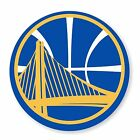 Golden State Warriors Round (Blue)  Decal / Sticker Die cut