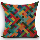 New Bohemian Pattern Throw Pillow Cover Car Cushion Cover Pillowcase Home Decor
