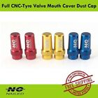 NC Nailed Bicycle Road Full CNC-Tyre Valve Mouth Cover Dust Cap  Bike for Presta