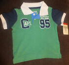 Reduced NWT Boys size 12 months, 4T or 8 Polo; retails $20.00-Save BIG (OshKosh)