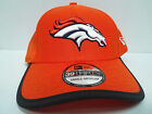 Denver Broncos Cap New Era 39Thirty Stretch Fitted Hat 2017 Training Camp NFL