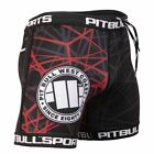Vale Tudo Shorts Red Ray Pit Bull West Coast MMA GYM BJJ