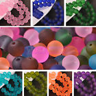 Bulk Wholesale 6mm Jelly Like Round Crystal Glass Loose Spacer Beads Lot Jewelry