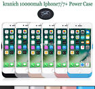 For iPhone 7 7 Plus 10000mAh Portable Battery Charger Case External Power Cover