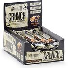 Warrior Crunch Protein Bars 12 x 64g Low Carb Low Sugar All Flavours *Free P&P*