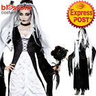 CA332 Bride of Darkness Ghost Horror Halloween Frankenstein Dress Zombie Costume