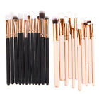 Eye Shadow Tools Cosmetic Beauty 12 Pcs Foundation Makeup Brushes Eyebrow