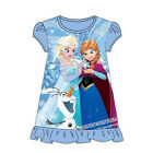 Girls Disney Frozen Nightdress Sleepwear Pyjamas NEW