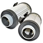 2-Pack HQRP H12 Filter for Eureka Optima Pet Lover Oh! 430 Series Vacuums DCF10