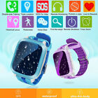 Waterproof GPS Tracker SOS Dial Children Baby Safe Smart Watch For Android iOS