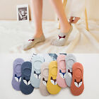 5 10 Pack Women Cotton Loafer Invisible No Show Nonslip Liner Low Cut Boat Socks
