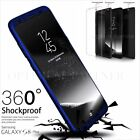 For Samsung Galaxy Model S8+ S7 Hybrid 360° Hard Ultra thin Case Cover Free Film