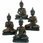 New Verdigris Thai Buddha 23cm Tall 4 Designs Meditation Mindfulness Metta Om