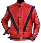 Thriller Michael Jackson Mens Real Leather Biker Jacket