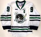 TYLER SEGUIN PLYMOUTH WHALERS WHITE EDGE AUTHENTIC REEBOK VECTOR JERSEY STARS