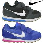 New Nike MD Sports Boys Girls Kids Athletic MD Runner Velcro Trainers Shoes Size