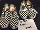 vans authentic golden coast checker us8 us8.5 us 9 us10 us12