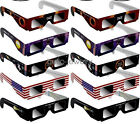 5X Sonnenfinsternis Brille Solar Eclipse Glasses CE and ISO Standard Viewing HJ