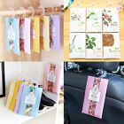 Sachets Scented Hanging Fragrance Bags Wardrobe Clothes Drawer Car Air Freshener