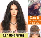 100 Human Hair Wigs Body Wave Indian Remy Hair Lace Wigs for Black Women 10-16""