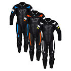 New Spada Motorcycle Bike Leather Full One Piece Riding Armour Suit Size 40-48