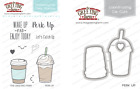 PERK UP Stamps/Dies Set-The Greeting Farm-Stamping Craft-Latte/Frappi/Coffee