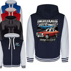 Dodge Dart Varsity Hoodie Jacket Mopar Classic American V8 Muscle Car Clothing $ USD