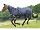 """Mark Todd MediumWeight Combo Turnout Rug in Ink & Grey - Sizes 6'6"""" & 6'9"""""""