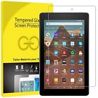 Premium Tempered Glass Screen Protector All-new Amazon Kindle Fire HD8,HD10,HD7